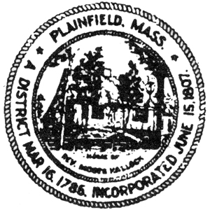 Plainfield Town Seal