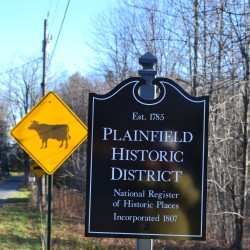 Plainfield Historic District Signs