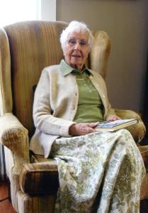 Kay in her 90s