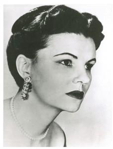 Irene Jordan, soprano, 1960