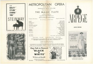 Metropolitan Opera Program